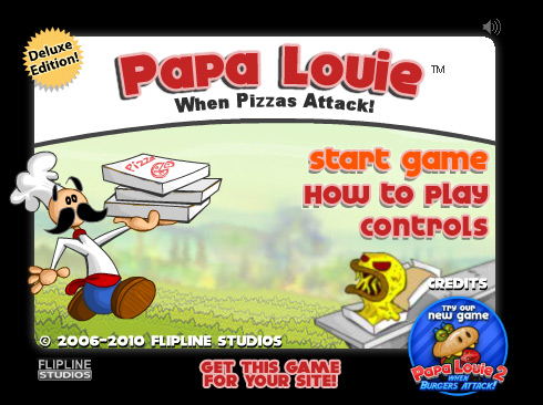 Click to play Papa Louie 1