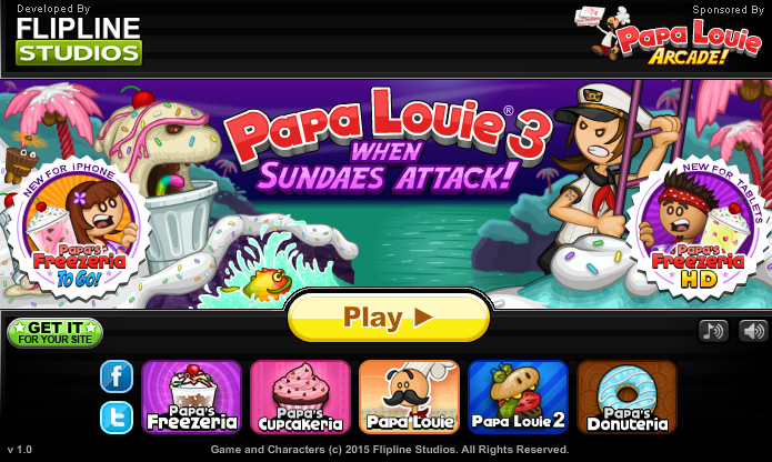 Play Papa Louie 3